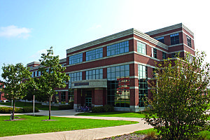 Penn State College of Engineering - The Leonhard Building, home of the Harold and Inge Marcus Department of Industrial and Manufacturing Engineering at Penn State.