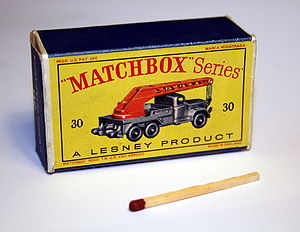 Lesney Products - A Lesney Matchbox truck box