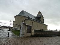 Lespourcy Eglise vue 3.JPG