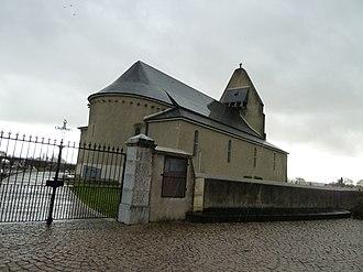 Lespourcy - The church of Lespourcy