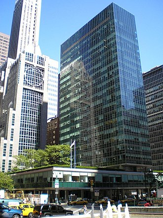 1952 in architecture - Lever House - the seminal International Style skyscraper