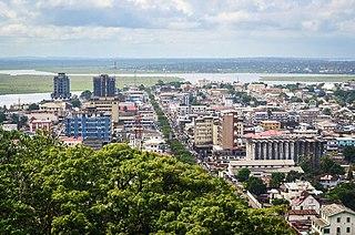 Monrovia Capital and chief port of Liberia
