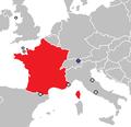 Liechtenstein France Locator.png