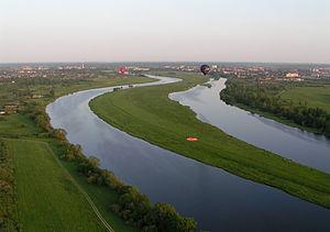 Lielupe - Lielupe near Jelgava, Latvia.