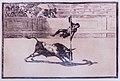 Ligereza y atrevimiento de Juanito Apiñani en la de Madrid, Grabado de Francisco Goya, Fuendetodos, Zaragoza, España, 2015-01-08, DD 10.JPG