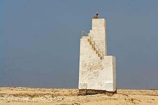Farol da Ponta do Sinó lighthouse in Cape Verde