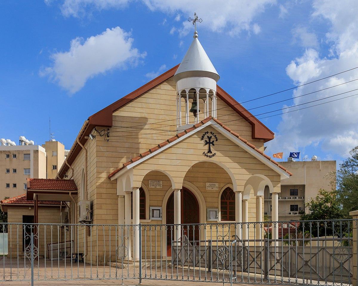 Sourp Kevork Church, Limassol - Wikipedia