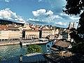 Limmat View from Lindenhof hill, Zurich (Ank Kumar) 07.jpg
