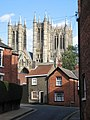 Lincoln Cathedral from Drury Lane - geograph.org.uk - 1425843.jpg