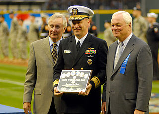 Chuck Armstrong Major League Baseball executive and former United States Navy officer