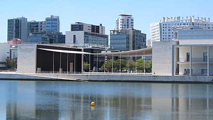 The Parque das Nacoes district was initially built for the Lisbon World Expo. Lisbon 120 (31787634704).jpg