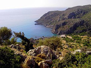Lissos - Lissos as seen from the east