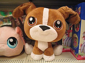 Littlest Pet Shop - Stuffed versions of Littlest Pet Shop toys