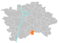 Location map municipal district Prague - Šeberov.PNG