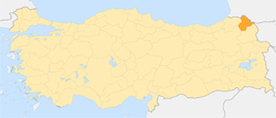 Locator map-Ardahan Province.png