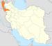 موقعیت استان آذربایجان غربی در ایران