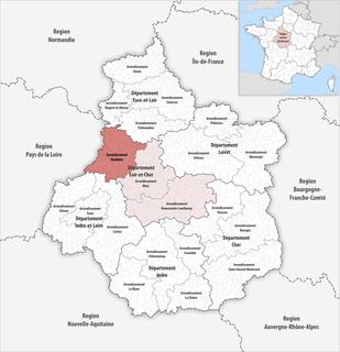 Arrondissement of Vendôme Arrondissement in Centre-Val de Loire, France