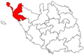 Locator map of the canton de Saint-Jean-de-Monts (in Vendée).png