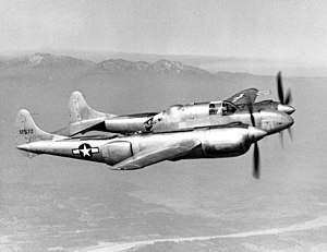 Lockheed XP-58 Chain Lightning - The sole completed XP-58