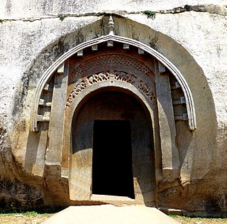 Barabar Caves rock-cut caves in Bihar, India