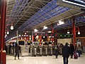 London Marylebone Station - Chiltern Railways - ticket barriers (6413692361) (2).jpg