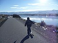 Longboarding along the Columbia River East Wenatchee Washington.jpg