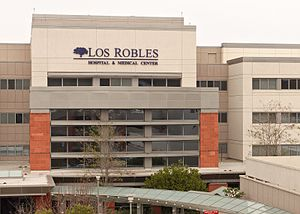 Los Robles Hospital & Medical Center - Image: Los robles medical center superstructure