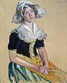 Lothar von Seebach-Jeune fille en costume hollandais.jpg