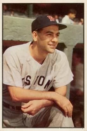 Lou Boudreau - Boudreau with the Boston Red Sox in 1953