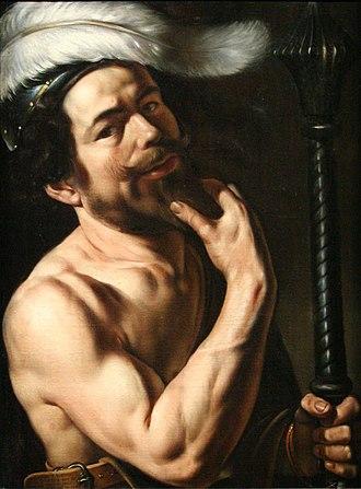 Louis Finson - Self-portrait, 1613