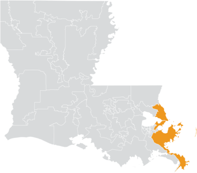 Louisiana Senate District 1 (2010).png