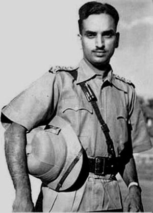 Karthika Thirunal Lakshmi Bayi - Lt. Col. P. R. Godavarma Raja – Prince Consort of Karthika Thirunal Lakshmi Bayi during his military days