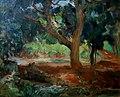 Lucílio de Albuquerque (1877-1939) Paisagem com fonte de água, óleo sobre tela, sem data, 28,5 x 35,4 cm, Photo Gedley Belchior Braga.jpg