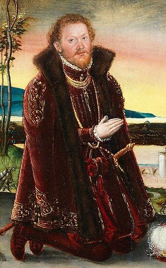Joachim Ernest, Prince of Anhalt - Joachim Ernest of Anhalt.