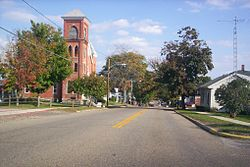 A view of West Main Street in Lucas in 2007