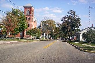 Lucas, Ohio - West Main Street in 2007