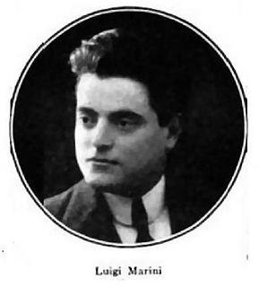 Luigi Marini Italian opera singer