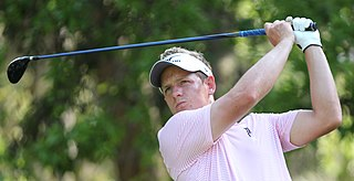 Luke Donald English professional golfer