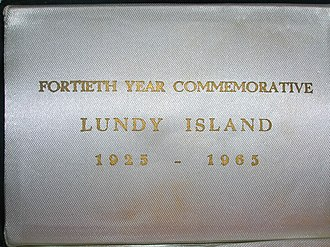 Coins of Lundy - Image: Lundy 19652