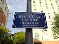 Lyon 8e - Allée Adolphe Lafont - Plaque (mai 2019).jpg