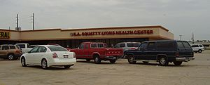 Bordersville, Houston - The E. A. Squatty Lyons Health Center in Humble replaced the clinic that operated in Bordersville