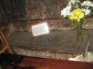 Bogdan I of Moldavia - Grave of Bogdan at Bogdana Monastery, Rădăuţi