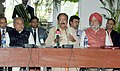 M. Venkaiah Naidu addressing the first National Consultation on Strengthening of Local Self Government on the theme 'Swarajya to Surajya', organised by Indian Institute of Public Administration, at Swarna Bharat Trust.jpg
