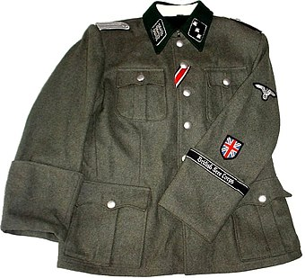 British Free Corps uniform tunic M36 British Free Corps Tunic.jpg