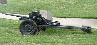United Shoe Machinery Corporation - M3 antitank gun and carriage, both manufactured by the United Shoe