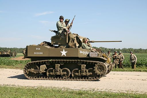 M5 Stuart Light Tank, Thunder Over Michigan 2006