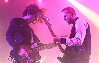 M83 (band) - Image: M83 performing in Boston, 2016 (cropped) (cropped)