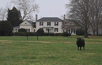 Millbank (Port Conway, Virginia) - Image: MILLBANK, KING GEORGE COUNTY