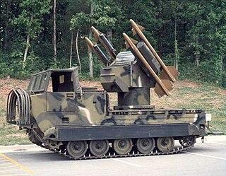 MIM-72 Chaparral Mobile SAM system