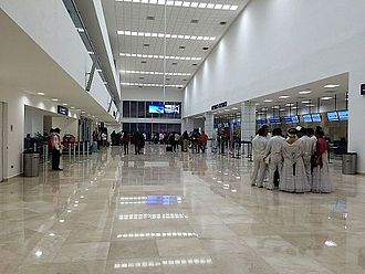 Veracruz International Airport - New check-in counters.